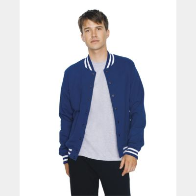 Unisex Heavy Terry Classic Club Jacket Thumbnail
