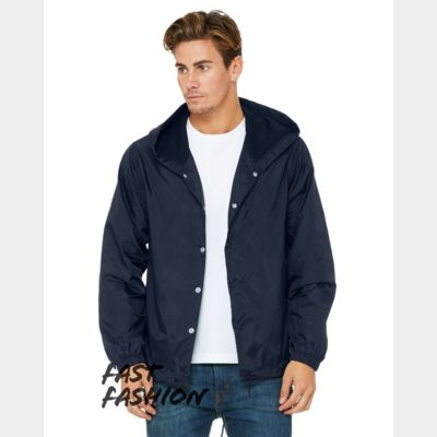 Fast Fashion Hooded Coach's Jacket Thumbnail