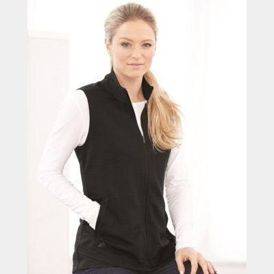 Women's Lifestyle Textured Full-Zip Vest Thumbnail
