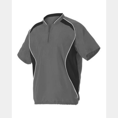 Short Sleeve Baseball Batters Jacket Thumbnail