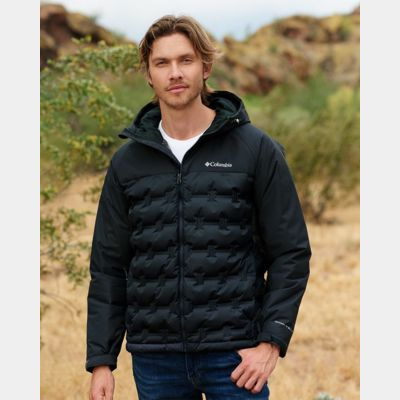 Grand Trek Hooded Down Jacket Thumbnail